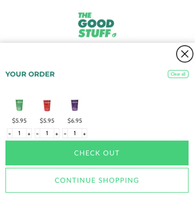 The Good Stuff Case Study